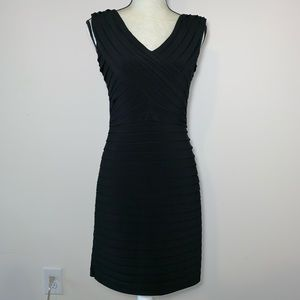 Eliza J Size 8 Black Evening Dress